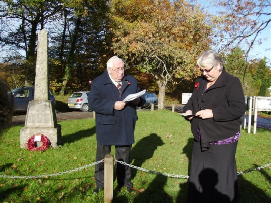 Rackenford~s Rememberance Service 2013 (3)
